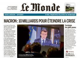 Martine Legris : « Dans son discours, le président est passé à côté du sujet »