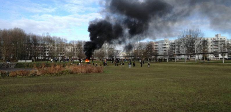 Mouvement des lycéens à Strasbourg: «On se caille dehors et rien ne se passe», les blocages pourraient durer
