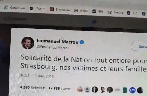 L'attaque annoncée avant qu'elle n'ait lieu ? Un compte israélien qui révèle le nom de Chérif Chekkat ? Tour d'horizon des infox autour de l'attentat de Strasbourg