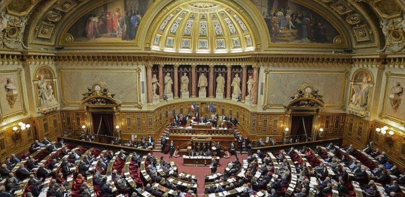Face à Macron, les sénateurs de l'opposition se posent en «gilets jaunes des institutions»