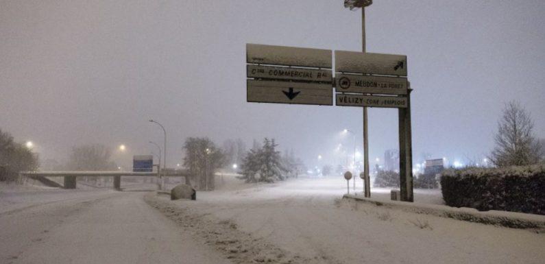 Neige: Des perturbations de circulation à prévoir en Ile-de-France, la RN118 coupée dès 15 heures