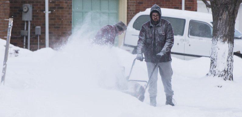 Vague de froid polaire aux États-Unis, chute de neige historique au Canada