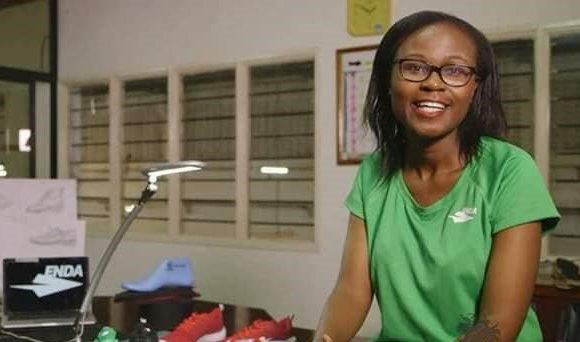 Navalayo Osembo-Ombati : la Kényane derrière une marque de chaussures de sports