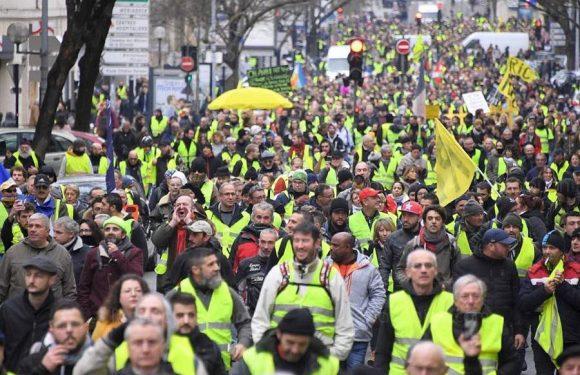 SOCIAL Les gilets jaunes à nouveau rassemblés pour un «acte 10»