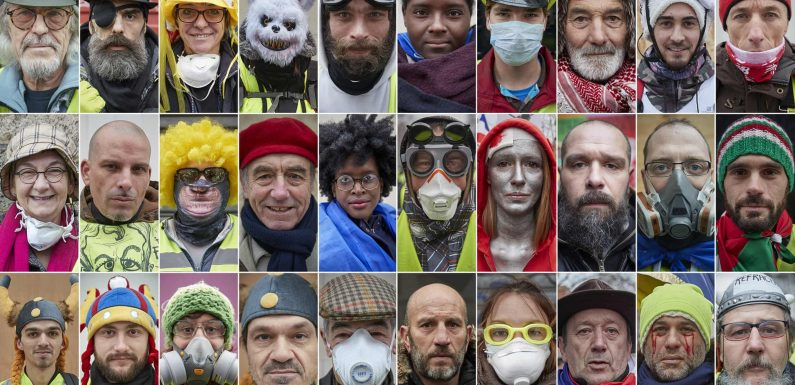 Just who are the gilets jaunes?