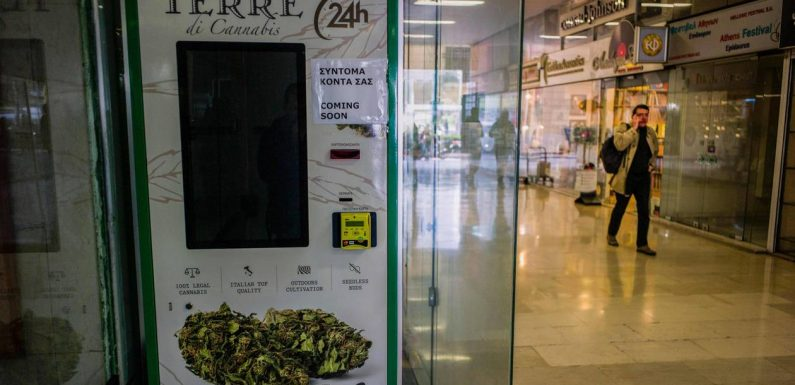 Grèce. Un premier distributeur automatique de cannabis à Athènes