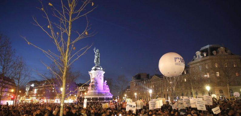 Rassemblement contre l'antisémitisme à Paris: «Il y a eu ces derniers mois une banalisation de ces actes»