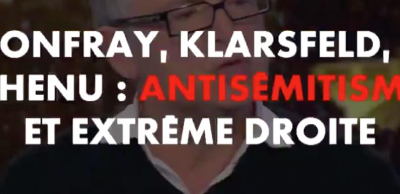 Liens entre antisémitisme et extrême droite ? Michel Onfray, Serge Klarsfeld et Sébastien Chenu partagent leurs visions