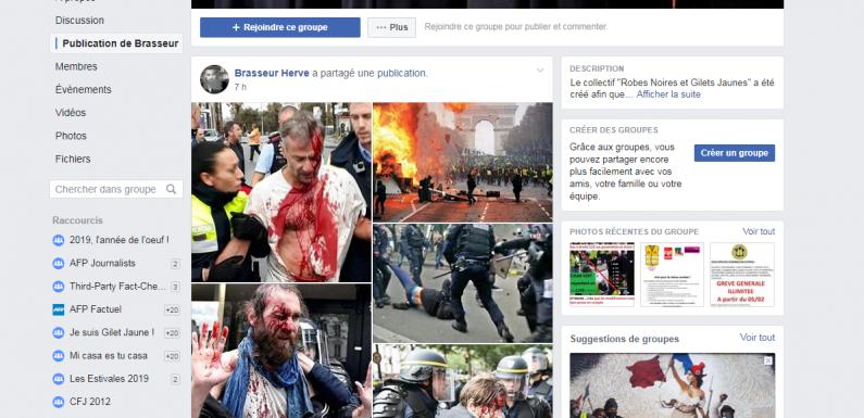 «Gilets jaunes»: des photos décontextualisées pour critiquer Macron