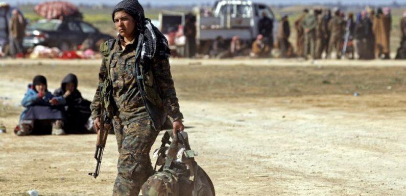 [Reportage] Syrie: Lilwa, membre des YPJ, s'occupe des femmes et enfants de l'EI