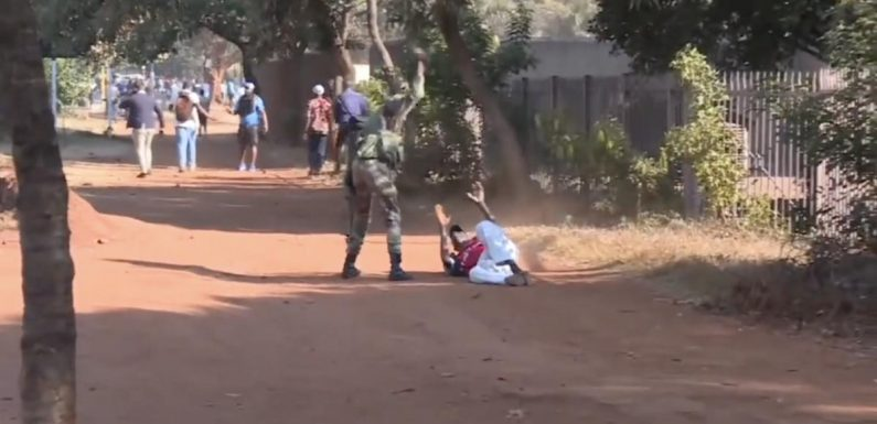 Zimbabwe: Excessive Force Used Against Protesters