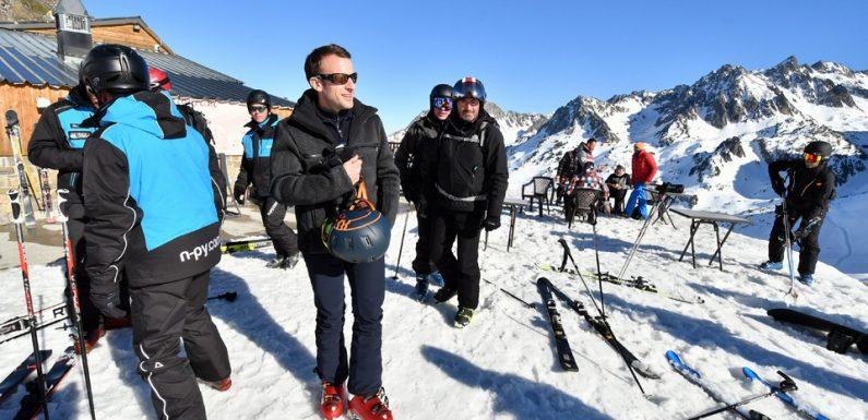 «Gilets jaunes»: Le week-end au ski de Macron écourté mais critiqué, l'exécutif dénonce une «fausse polémique»