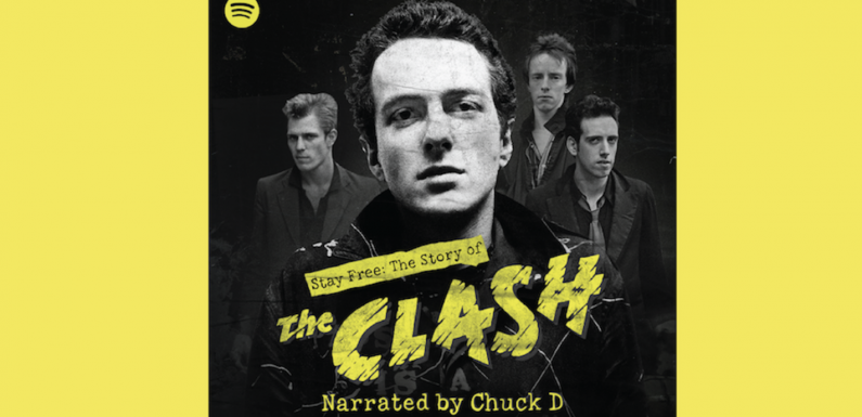 """""""Stay Free: The Story of the Clash"""" Narrated by Public Enemy's Chuck D: A New Spotify Podcast"""