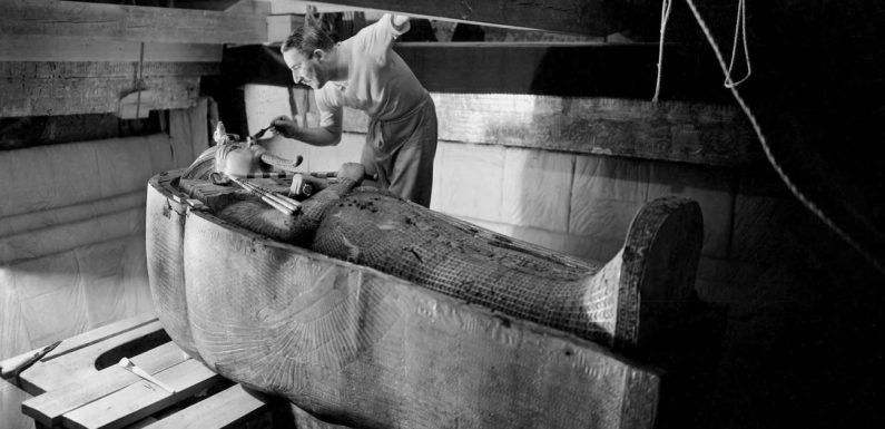 1922, la découverte du siècle : la tombe de Toutânkhamon