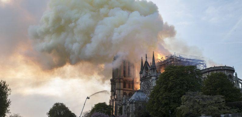 Incendie à Notre-Dame-de-Paris: Disparition des rosaces, origine du feu… Attention aux intox
