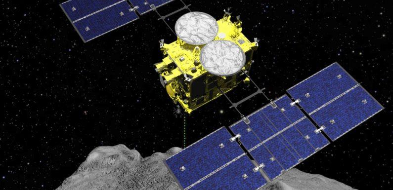 Japon: La sonde Hayabusa2 tente de créer un cratère sur un astéroïde