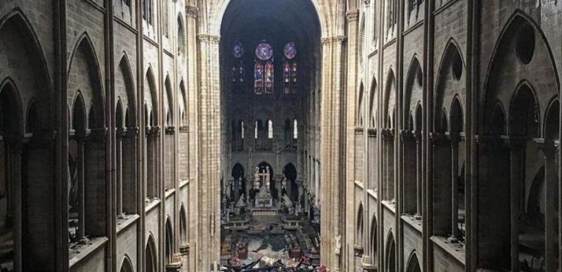 Les murs et les fondations de Notre-Dame ont survécu : symbole des murs porteurs de notre civilisation