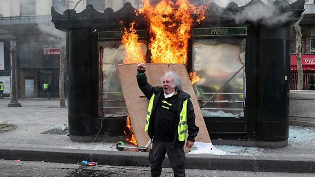 Yellow vest protests: Paris police sacked, rally bans planned