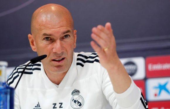 Real Madrid: «Je sais ce que je veux avec mon équipe», Zidane nie vouloir faire du favoritisme avec son fils