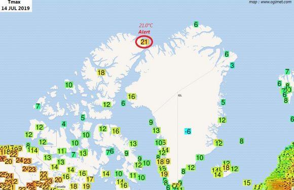 Chaleur, fonte de la banquise et feux de forêts : des records sans précédent en arctique