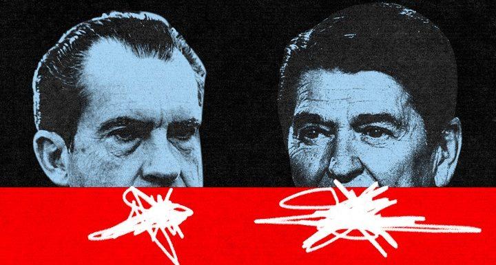 Ronald Reagan's Long-Hidden Racist Conversation With Richard Nixon
