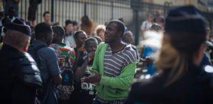 """Black Vests"" Migrant Movement Demands End To Deportations in France"