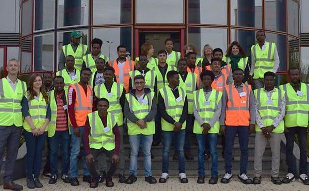 Ressons-sur-Matz / Longueil-Sainte-Marie (60) : une société forme des migrants aux métiers de la logistique