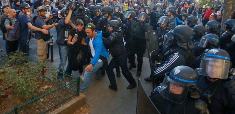Manifestations à Paris samedi : 158 personnes placées en garde à vue selon le parquet