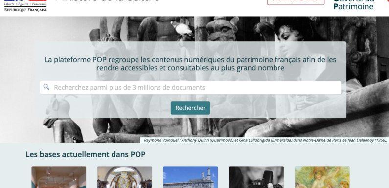 Pop. Un accès libre à toutes les bases historiques du ministère de la Culture
