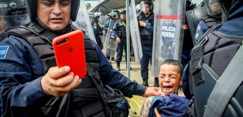 Mexique: dispersion d'un convoi de 2000 clandestins qui demandait l'aide du président
