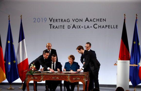 Le Parlement approuve le traité franco-allemand d'Aix-la-Chapelle