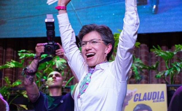 Claudia Lopez, première femme élue maire de Bogota