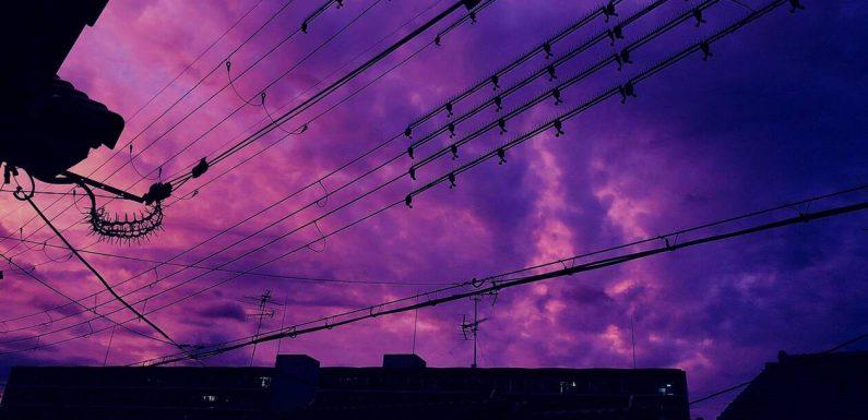 EN IMAGES. Typhon Hagibis au Japon : l'impressionnant ciel rose avant l'arrivée de la tempête