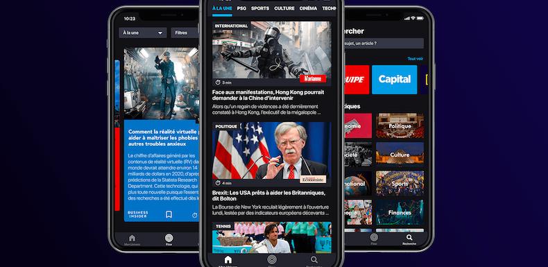 «Il fallait un Spotify pour les articles de presse» : Pressmium, l'appli française qui veut contrer Google et Apple News