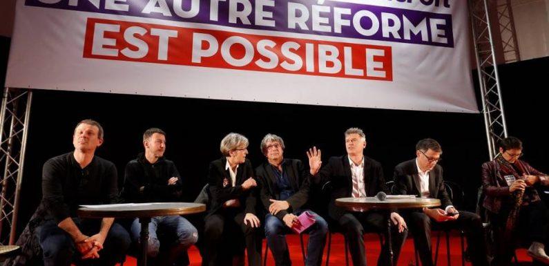 Retraites: De Besancenot à Faure, la gauche (presque) unie à Saint-Denis contre la réforme du gouvernement