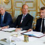Est-il vrai que Macron a rencontré le groupe BlackRock, spécialisé dans les fonds de pension ?