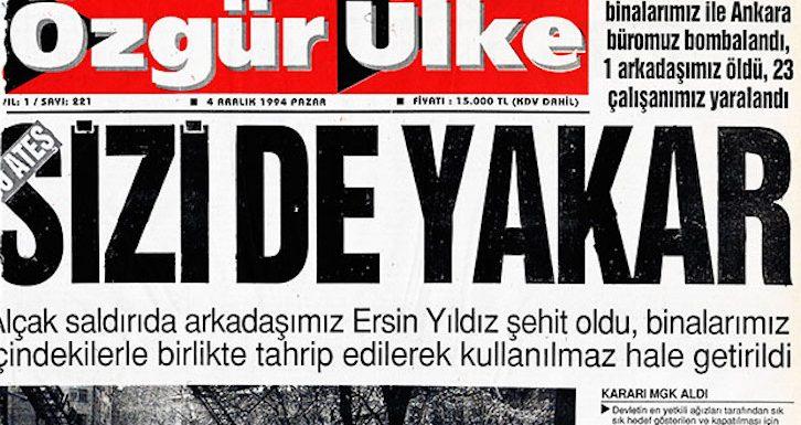 HDP : Erdogan ne réussira pas à réduire au silence la presse libre