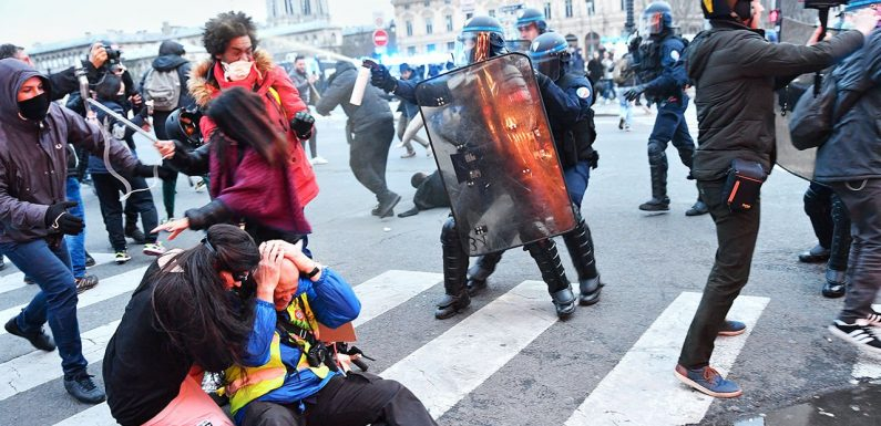 Brutal facts France admits its police are too violent