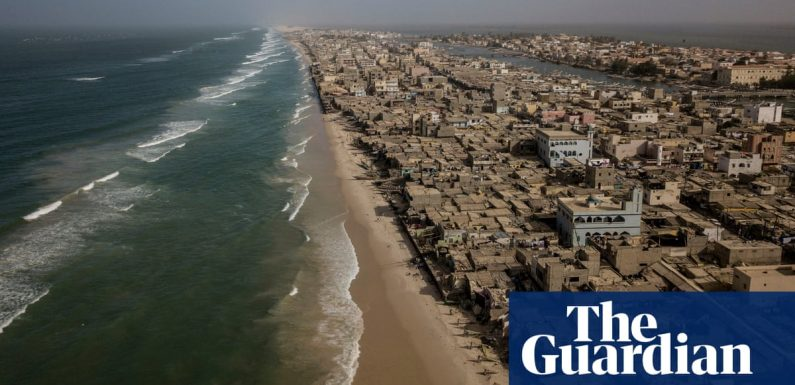 How the 'Venice of Africa' is losing its battle against the rising ocean