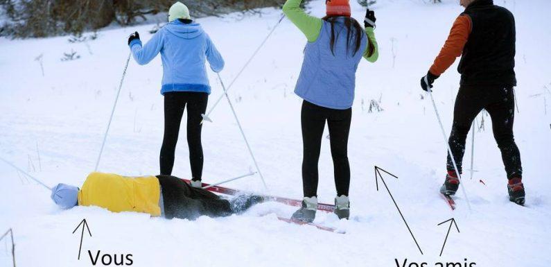 Comment assumer de ne pas être ski-compatible pendant les fêtes de Noël ?