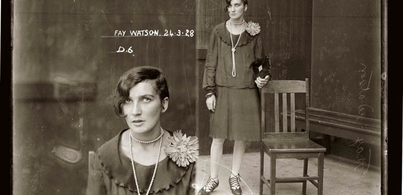 Incredibly Stylish Mugshots From The 1920s