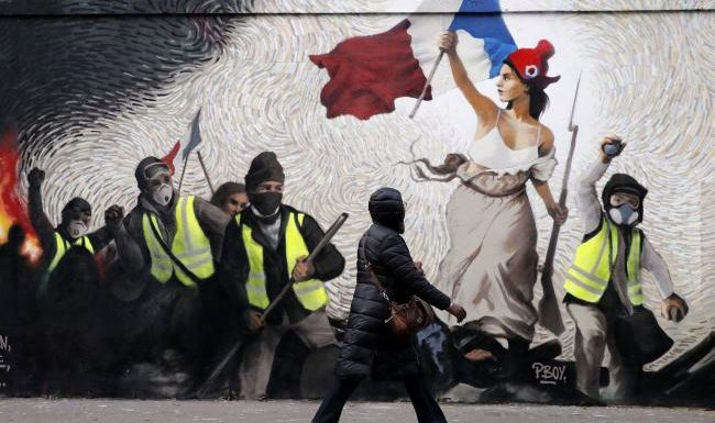 How France's yellow-vest protests could happen in Scotland