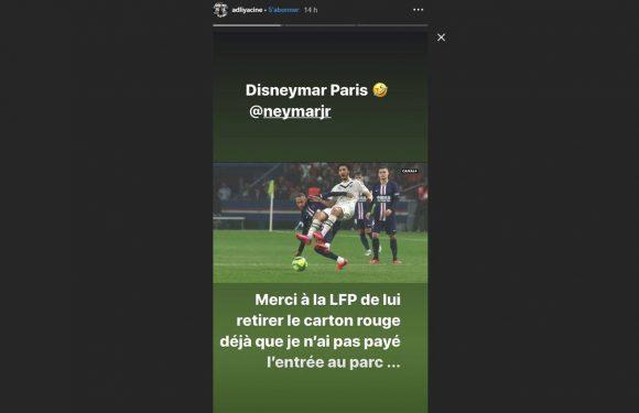 PSG-Bordeaux : Yacine Adli demande à la LFP de retirer le carton rouge à Neymar