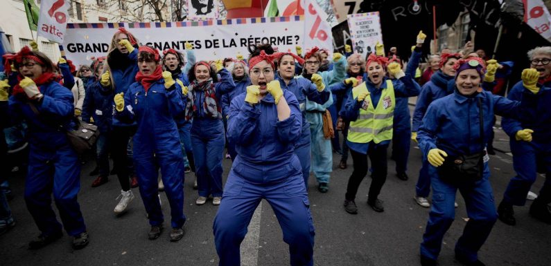 The Battle for French Pension Reform