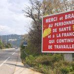 Coronavirus : à Toulon, des affiches pour soutenir les soignants