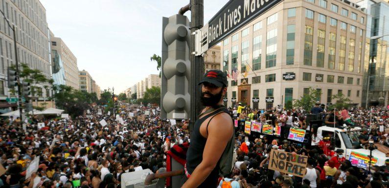 Black Lives Matter : un samedi de marches pacifiques dans plusieurs grandes villes américaines